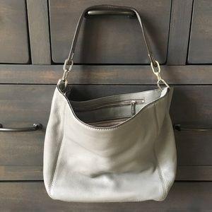 Grey Leather Micheal Kors bag